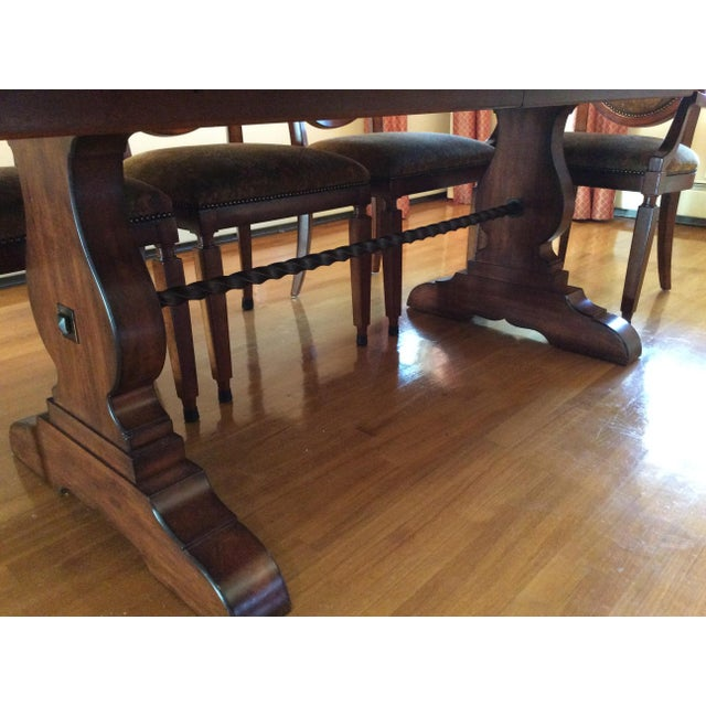 Bernhardt Dining Table and 8 Chairs - Image 3 of 8
