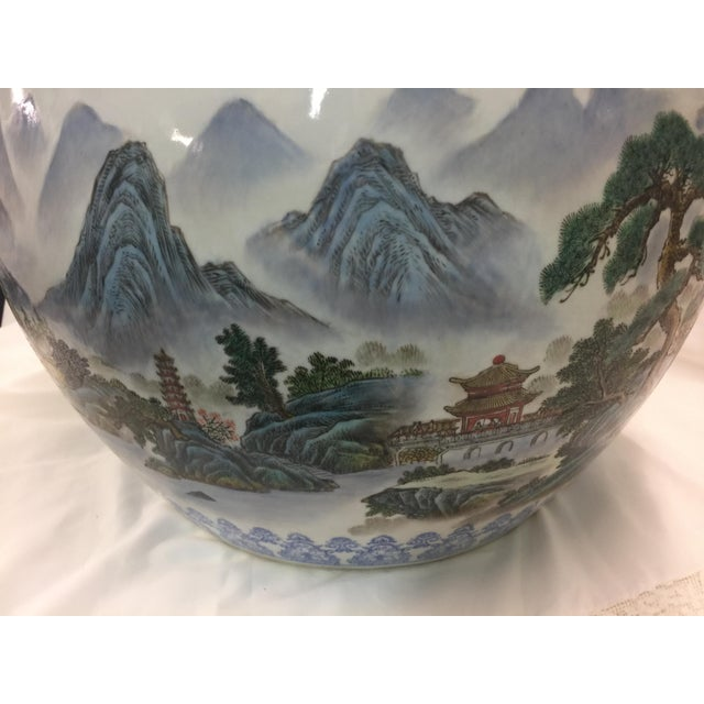 Chinese Fish Bowl Jardiniere For Sale In San Francisco - Image 6 of 10