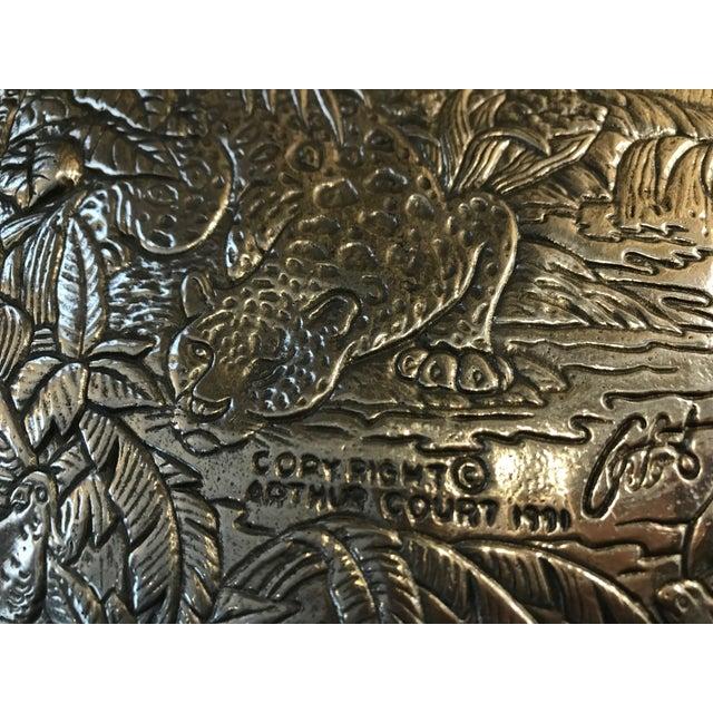 Arthur Court Jaguar Plate For Sale - Image 9 of 10