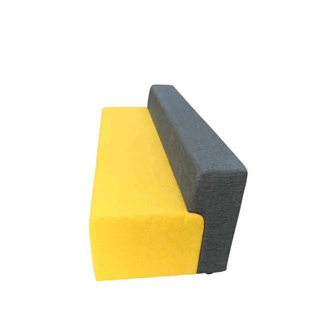 Mid-Century Modern Knoll Armless Sofa For Sale - Image 3 of 8