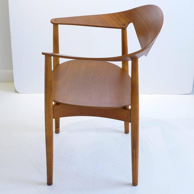Fritz Hansen Metropolitan Chair by Madsen and Larsen For Sale - Image 4 of 7