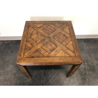 Henredon Artefacts Campaign Style Square Accent Table Preview