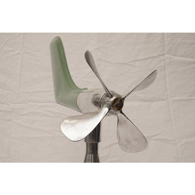 Industrial Mid-Century Modern Ship's Aerovane and Anemometer For Sale - Image 3 of 7