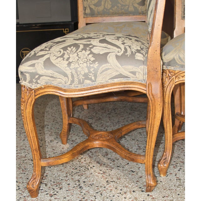 1990s Vintage Fairfield Dining Chairs - Set of 6 For Sale In Atlanta - Image 6 of 12