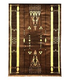 Image of Art Deco Traditional Handmade Rugs