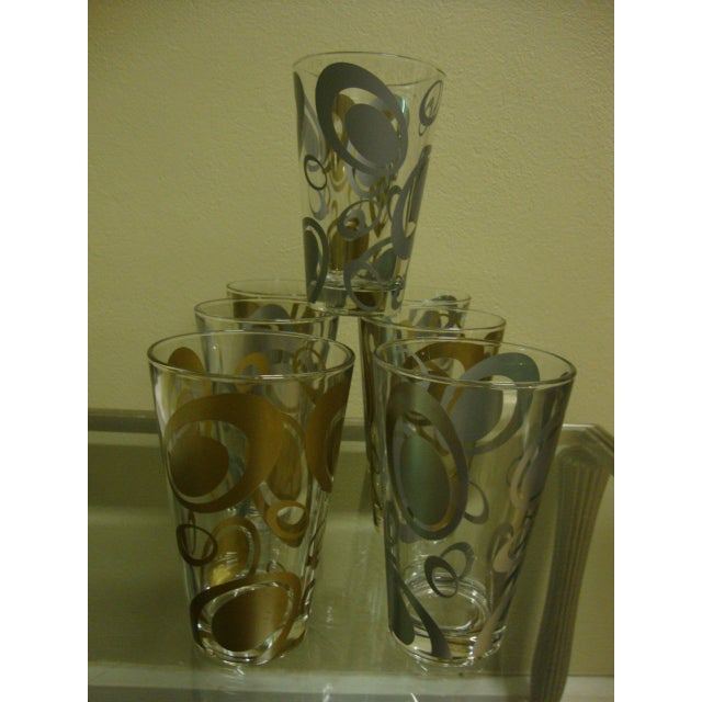 Mid-Century Italian Cerve Beer Glasses - Set of 8 - Image 4 of 8