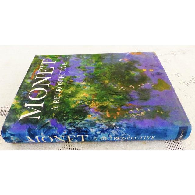 Vintage 'Monet, a Retrospective' Hardcover - Image 11 of 11