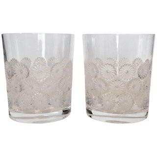 Vintage Lalique 'Napsbury' Cocktail Glasses - a Pair For Sale