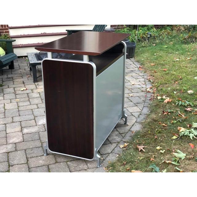 Herman Miller Rosewood & Metal Cabinet For Sale - Image 10 of 13