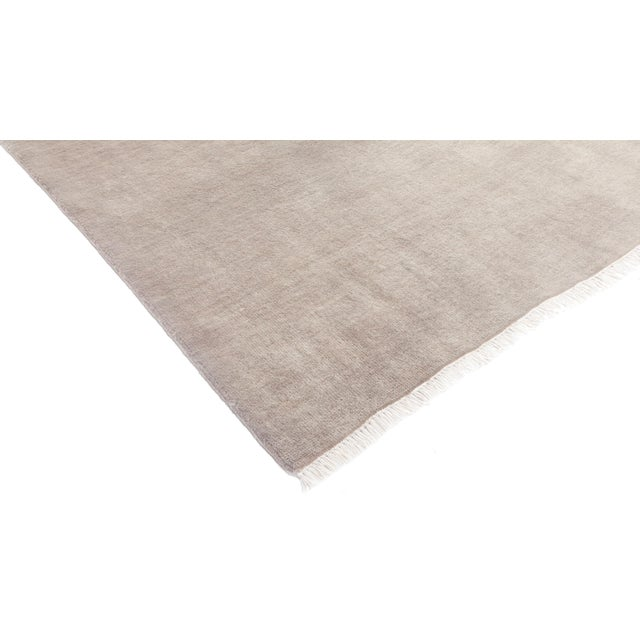 "Solids Hand Knotted Area Rug - 8' 0"" X 10' 0"" - Image 2 of 4"