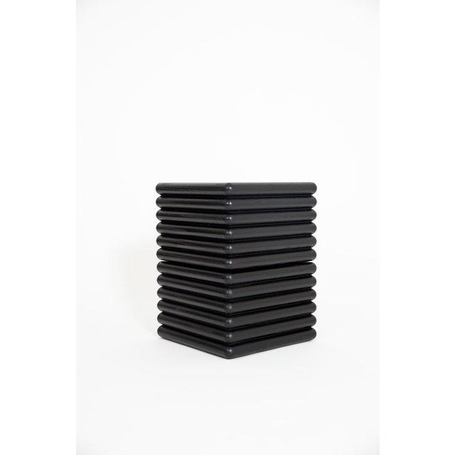 The Ridge Stool stacks. Singly the Ridge Stool is a low seat or a step up, stacked once it becomes a standard seat or a...