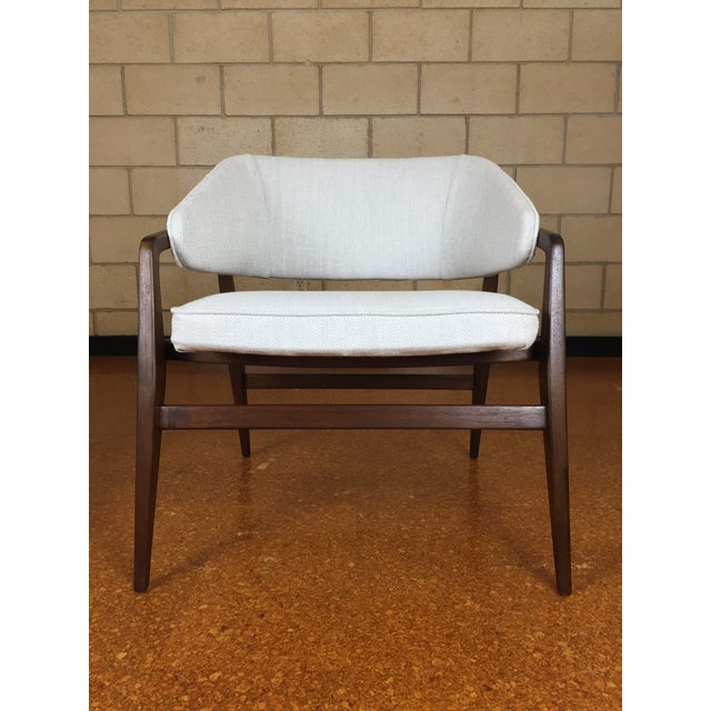 Mid-Century Modern Mid-Century Modern Gio Ponti for Singer & Son Lounge Chair For Sale - Image 3 of 11