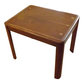 Lane Mid Century Occasional Table 1952 Date Stamp