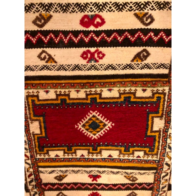 "Moroccan Berber Rug-2'1'x3'4"" For Sale - Image 4 of 10"