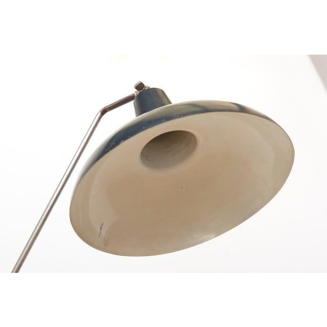 Anvia Black Hoogervorst Rare Counter Balance Floor Lamp for Anvia 1950s Netherlands For Sale - Image 4 of 11