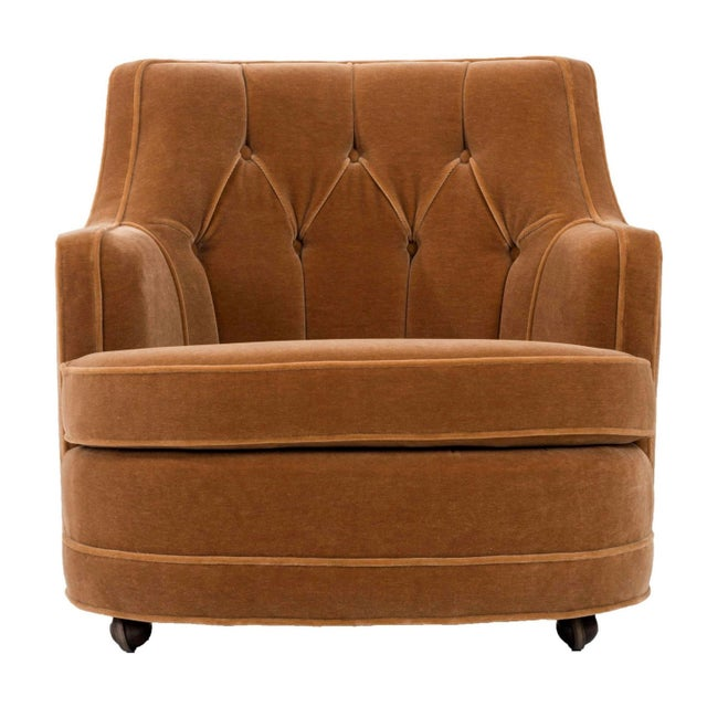 Edward Wormley Lounge Chair dor Dunbar For Sale - Image 9 of 9