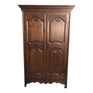 1990s Traditional Spanish Armoire For Sale