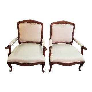 1990s Vintage French Style Chairs - A Pair For Sale