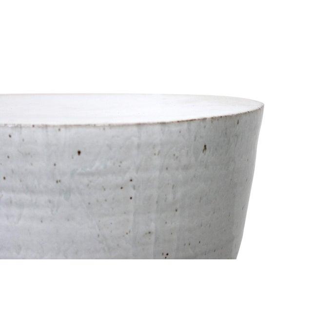 Large Tariki Ceramic Stool For Sale In Boston - Image 6 of 12