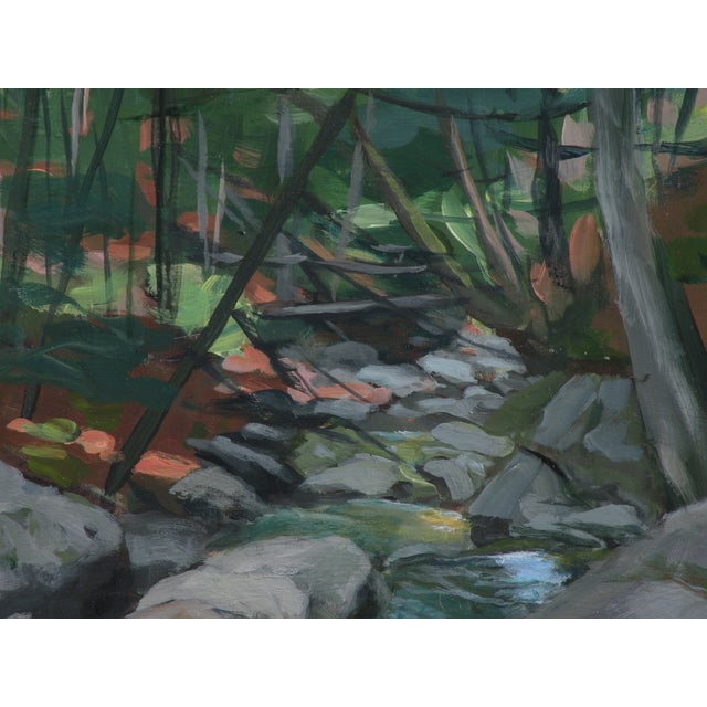 """Mountain Stream"" Plein Air Painting by Stephen Remick - Image 5 of 6"