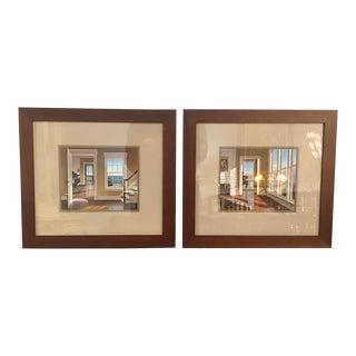 Edward Gordin Interior Prints- A Pair For Sale