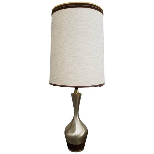 Silver Tony Paul for Laurel Lamp Company For Sale - Image 8 of 8
