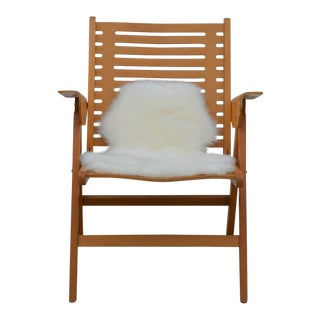 1950s Vintage Niko Kralj Folding Rex Lounge Chair For Sale