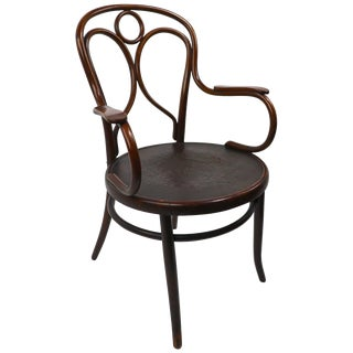 Vienna Secession Bentwood Chair by Fischel For Sale