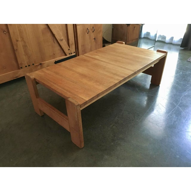 Danish Modern Wooden Coffee Table - Image 5 of 7