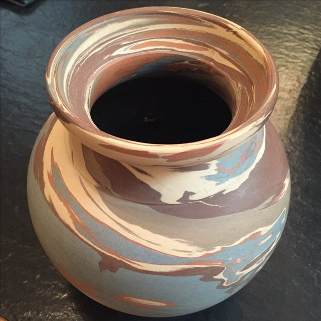 Niloak Mission Swirl Pottery Vase - Image 2 of 6
