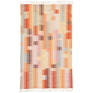 Jaipur Living Carver Indoor/ Outdoor Abstract Orange/ Brown Area Rug - 2' X 3'