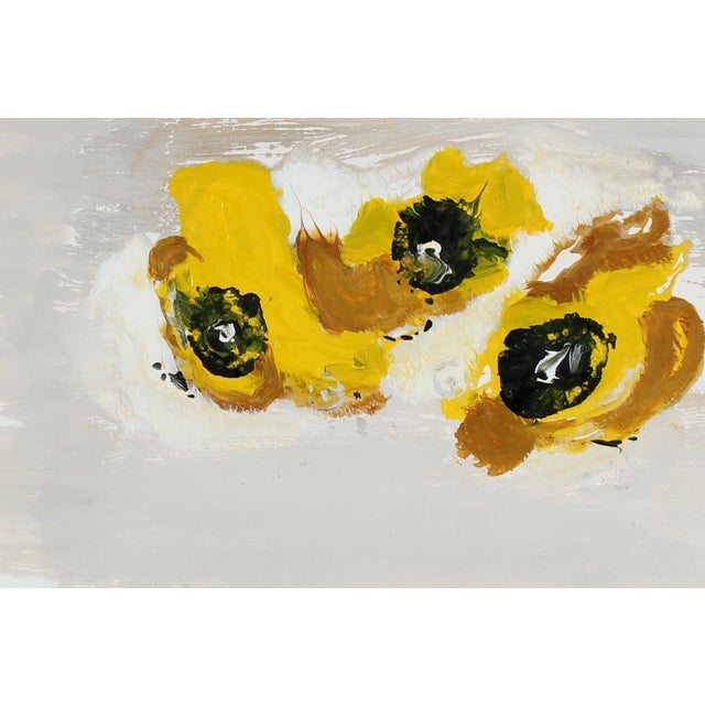 Gwen Stone Yellow Monoprint, 2003 - Image 2 of 2
