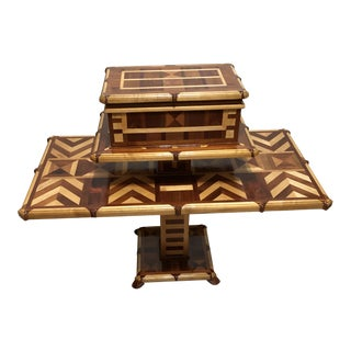 Tabaco Humidor With Table For Sale