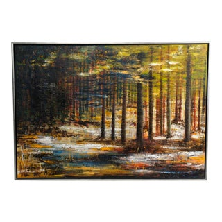 Abstract Forest by Susanne Gredsted For Sale
