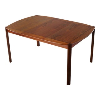 Exquisite Danish Modern Extension Dining Table, Denmark For Sale