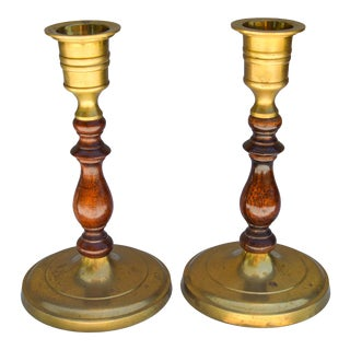 Handmade Moroccan Candlesticks, S/2 For Sale