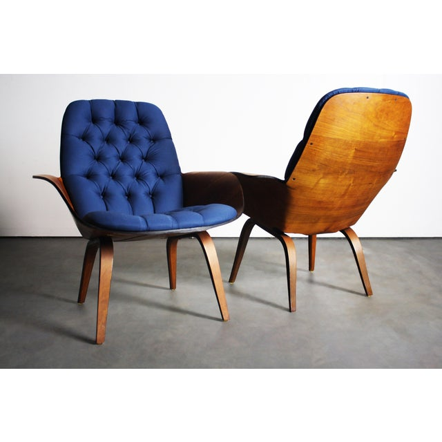 George Mulhauser for Plycraft Lounge Chairs - Pair - Image 4 of 11