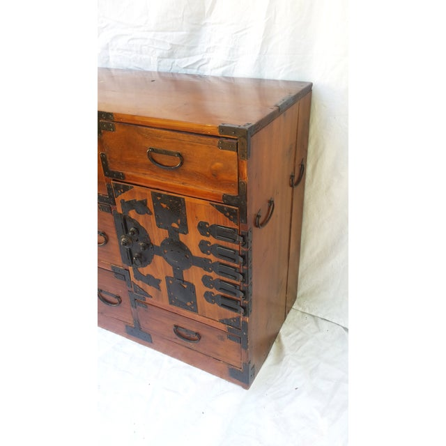 Korean Camphor Wood Cabinet - Image 4 of 11