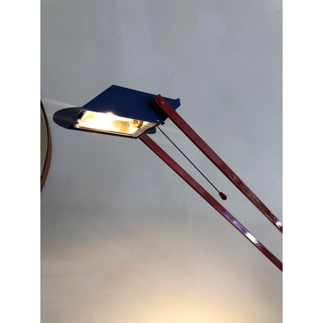 1980s Post Modern 1980s Memphis Halogen Table Lamp For Sale - Image 5 of 7