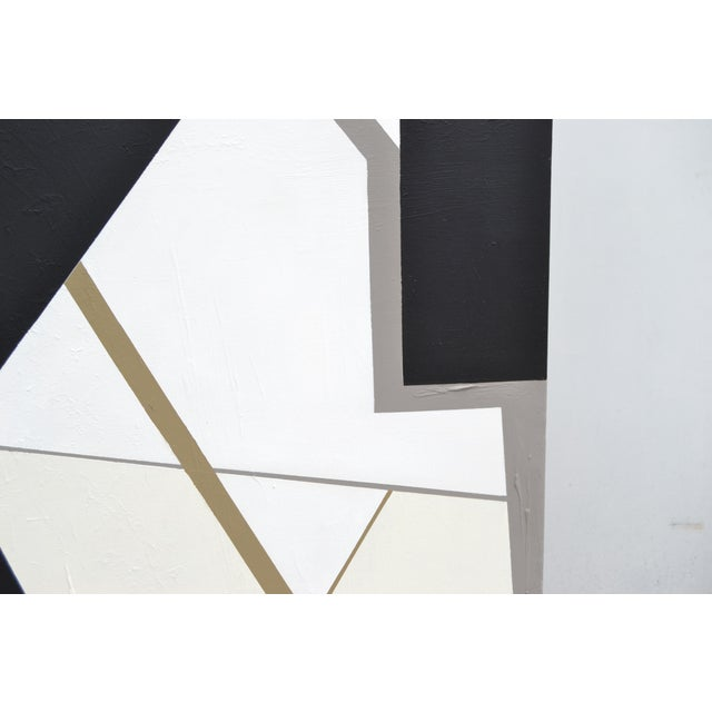 Monumental Abstract Painting in Acrylic on Canvas by Yamil O Cardenas For Sale - Image 9 of 13