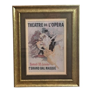 Vintage Limited Edition Jules Cheret Poster
