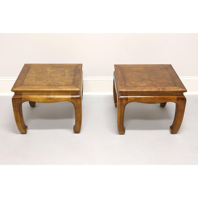 Chinoiserie Century Chin Hua Raymond Sobota Asian Chinoiserie Ming Cocktail Tables - Pair For Sale - Image 3 of 11