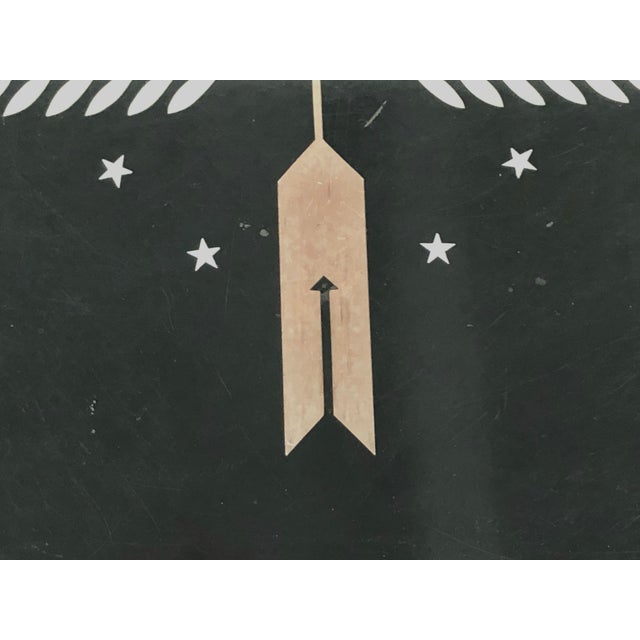 1930s Art Deco George Switzer Inlaid Resin Tray for Micarta, Circa 1930s For Sale - Image 5 of 11