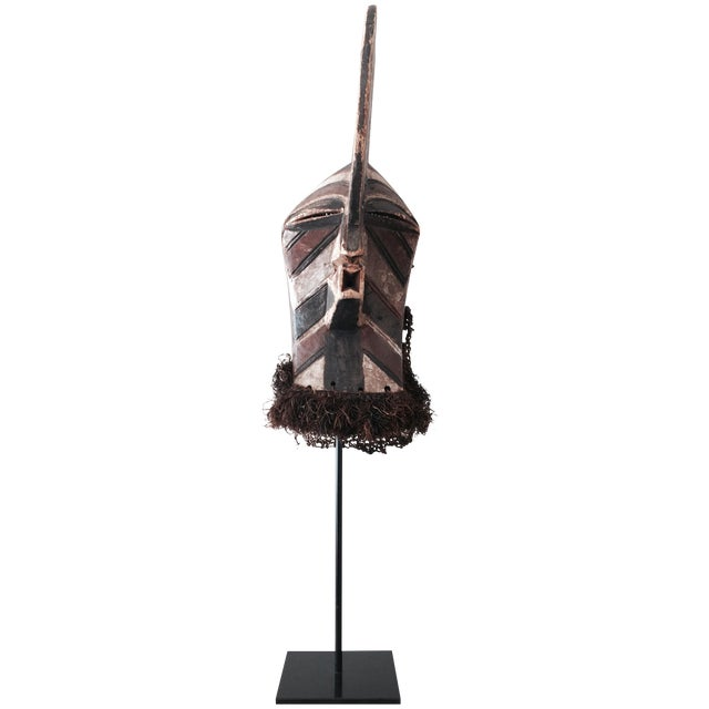 """Songye Kifwebe """"Police"""" Tribal Mask - Image 1 of 4"""