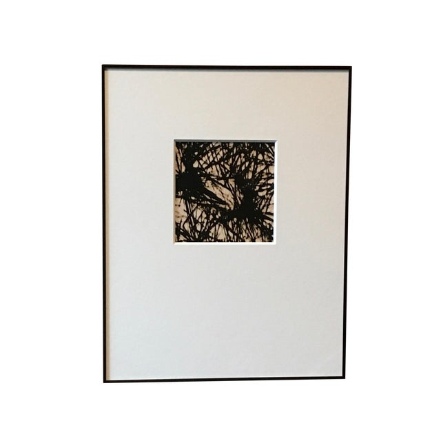 1970s Abstract Black and White Photograph For Sale