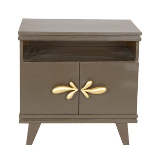 Rochelle Nightstand (Slate Gray) For Sale