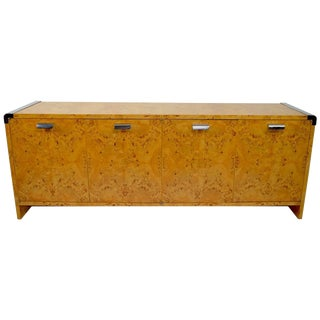 Burl Dresser by Leon Rosen for Pace Collection For Sale