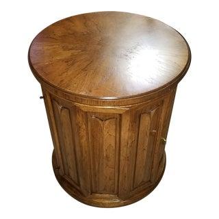 1950s Regency Heritage Furniture Company' Column/Drum Cabinet For Sale
