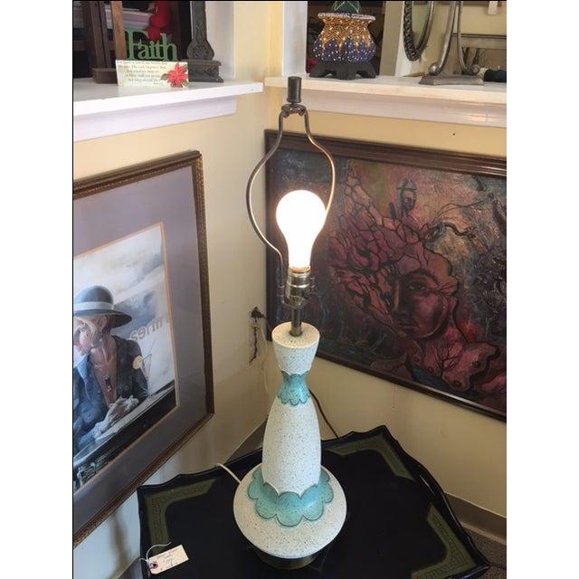 Mid Century Modern Lamp & Original Shade - Image 9 of 9