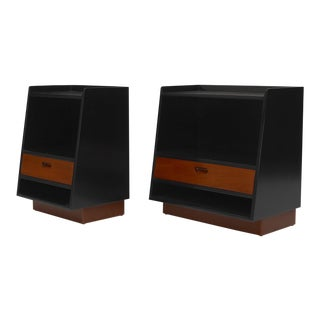 Pair of Nightstands by Edward Wormley for Dunbar For Sale